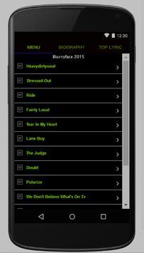 Twenty One Pilots Full Lyrics screenshot 2