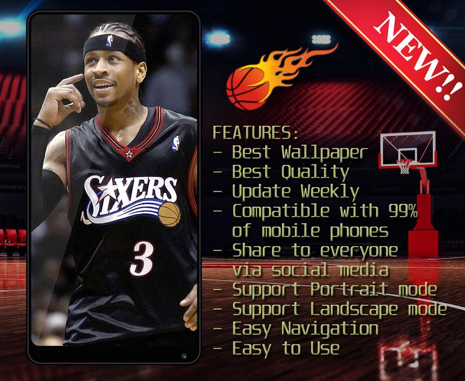 Allen Iverson Wallpaper Hd 4k For Android Apk Download