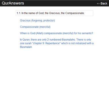 QurAnswers apk screenshot