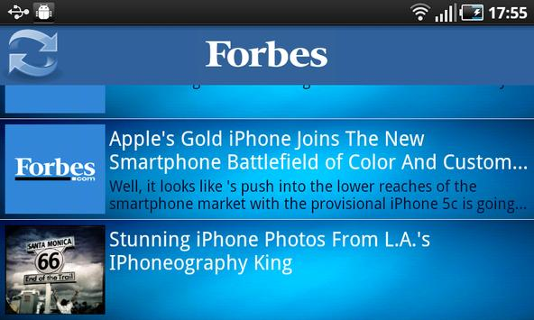 Forbes News poster