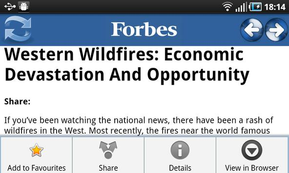 Forbes News apk screenshot