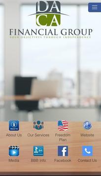 DACA Financial Group poster