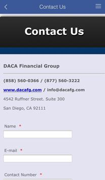 DACA Financial Group apk screenshot