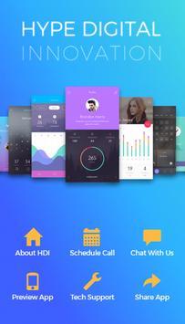 Hype Digital Innovation poster