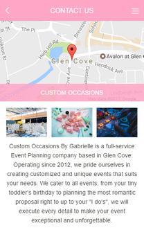 Custom Occasions by Gabrielle screenshot 2