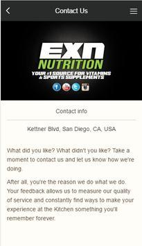 EXN Nutrition screenshot 2