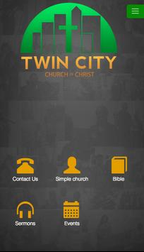 Twin City Church of Christ poster