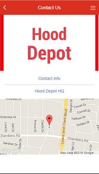 Hood Depot apk screenshot