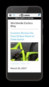 Worldwide Cyclery apk screenshot