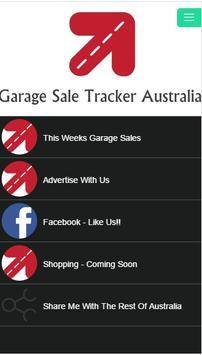 Garage Sale Tracker Australia poster