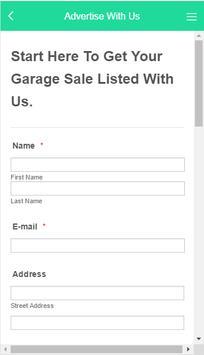 Garage Sale Tracker Australia screenshot 1