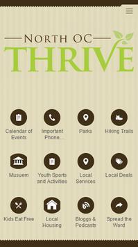North OC Thrive poster