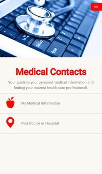 Medical Contacts screenshot 3