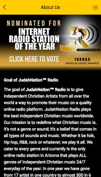 JudahNation™ Radio screenshot 1