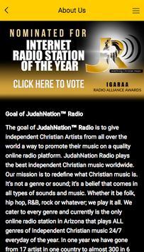 JudahNation™ Radio apk screenshot