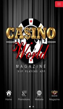 Casino World Magazine poster