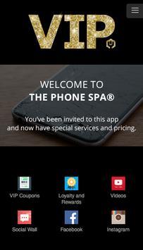 The Phone Spa - VIP Repair poster