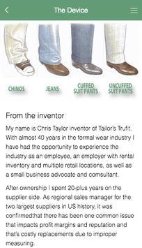 Tailor's TRUFIT screenshot 4