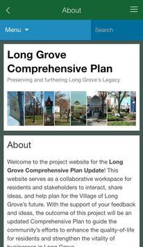 Long Grove Comprehensive Plan apk screenshot