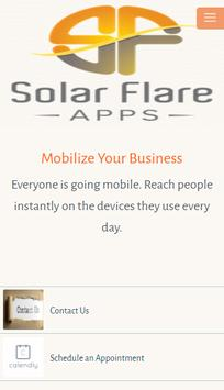 Solar Flare Apps poster