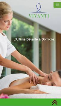 Vivanti Massage poster