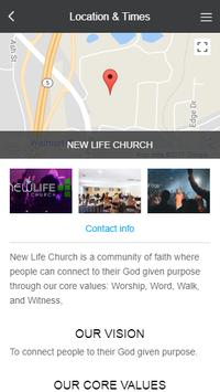 New Life Church Canton apk screenshot