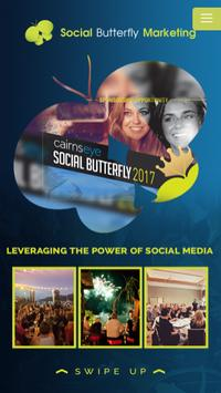 Social Butterfly Marketing poster