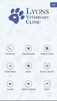 Lyons Veterinary Clinic poster