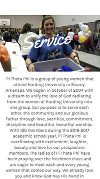 Pi Theta Phi screenshot 1