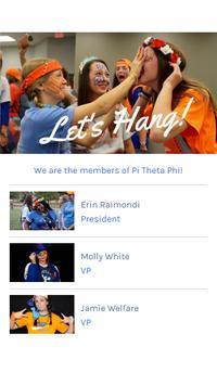 Pi Theta Phi screenshot 2