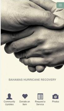 Recover Bahamas poster