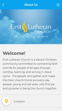 First Lutheran Church screenshot 2