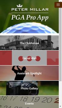 Peter Millar PGA Pro App poster