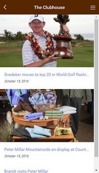 Peter Millar PGA Pro App screenshot 1