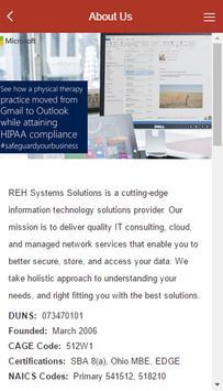 REH Systems Solutions apk screenshot
