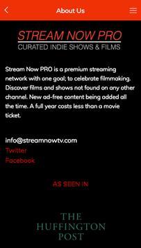Stream Now PRO screenshot 1
