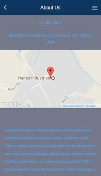 Hanes Packaging Sentinel screenshot 2