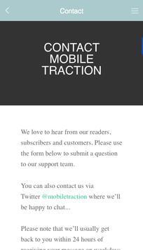 Mobile Traction screenshot 2