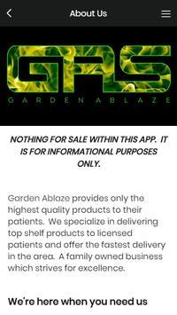 Garden Ablaze poster