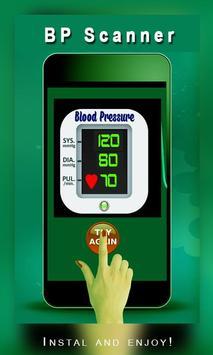 Blood pressure Scanner Prank screenshot 1
