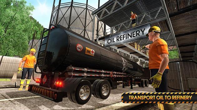 Transporter Truck Simulator poster
