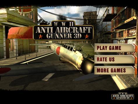WW2 Anti Aircraft Gunner 3D screenshot 7