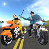Prison Escape Cop Bike Chase icon
