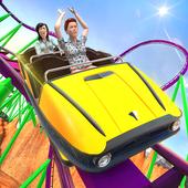 Roller Coaster Crazy Driver 3D icon