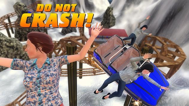 Roller Coaster Crazy Driver 3D apk screenshot