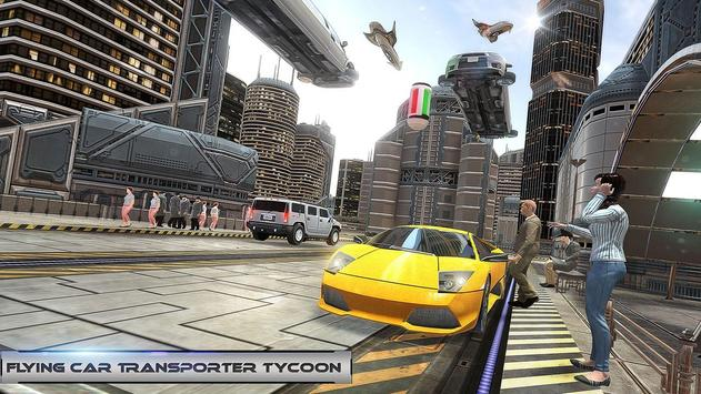 Flying Car Transporter Tycoon poster