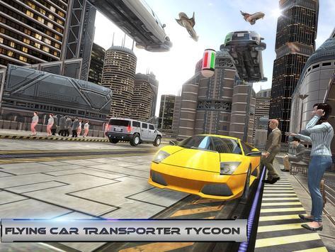 Flying Car Transporter Tycoon apk screenshot