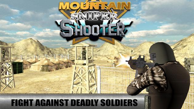 Mountain Sniper Shooter 3D poster