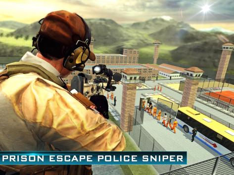 Prison Escape Police Sniper 3D apk screenshot