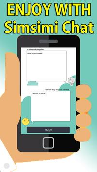 Chat Simsimi online talking Tips apk screenshot